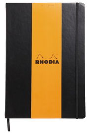 Rhodia Webnotebook A4 Blank (Black)