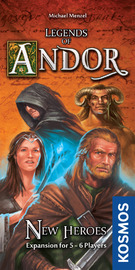 Legends of Andor - New Heroes Expansion