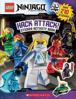 Hack Attack!: Sticker Activity Book (Lego Ninjago) by Ameet Studio