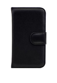 3SIXT Book Wallet Case for Galaxy S5 (Black)