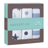 Aden + Anais Washcloth - Rock Star (3 pack washcloth set)