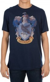 Harry Potter Embroidered T-Shirt - Ravenclaw (Small)