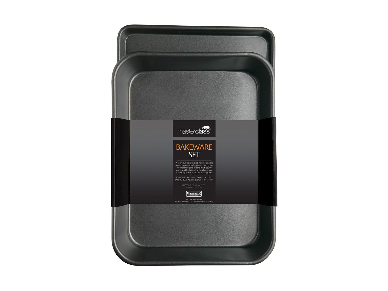 MasterClass: Non-Stick Bakeware Twin Pack (34cm) image