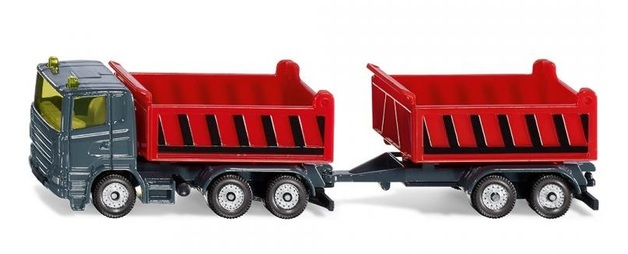 Siku: Truck with Dumper body & Tipping Trailer - Diecast Vehicle
