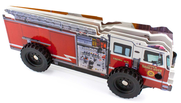 Fire Engine (Wheelie Board Book) by DK