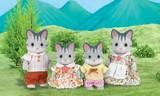 Sylvanian Families - Gray Cat Family