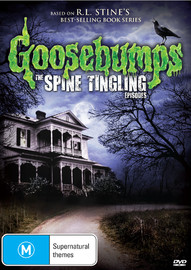 Goosebumps: The Spine Tingling Eps on DVD
