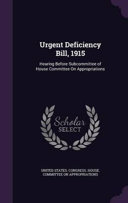 Urgent Deficiency Bill, 1915 image