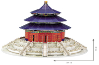 3D Puzzle Large - The Temple of Heaven