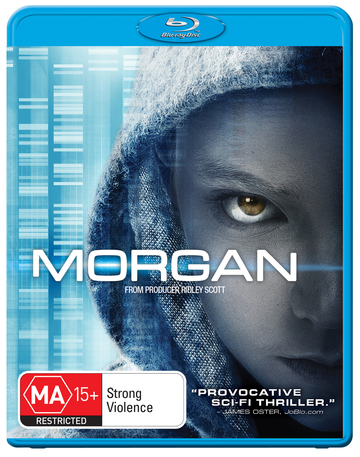 Morgan on Blu-ray image