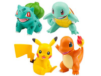 Pokemon: Moncolle EX Kanto Starters - Mini-Figure Collection