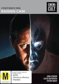 Raising Cain on DVD