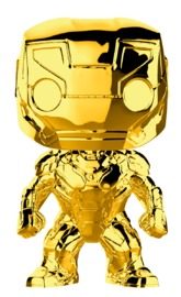 Marvel Studios - Iron Man Gold Chrome Pop! Vinyl Figure image