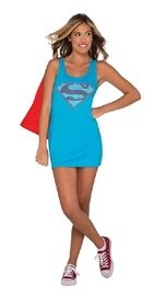 DC Comics: Supergirl - Teen Tank Dress (Medium)