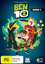 Ben 10 (2016) - The Complete Season 2 on DVD