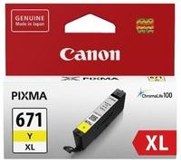 Canon CLI-671XLY Yellow High Yield Ink Cartridge