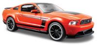 Maisto: 1:24 Die-Cast Vehicle - Ford Mustang Boss 302 (Orange) image