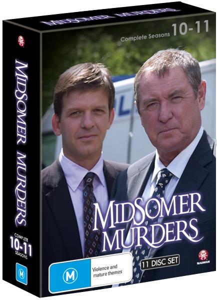 Midsomer Murders - Season 10-11 (Plus Christmas Special) (11 Disc Boxset) on DVD image