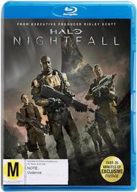 Halo: Nightfall on Blu-ray