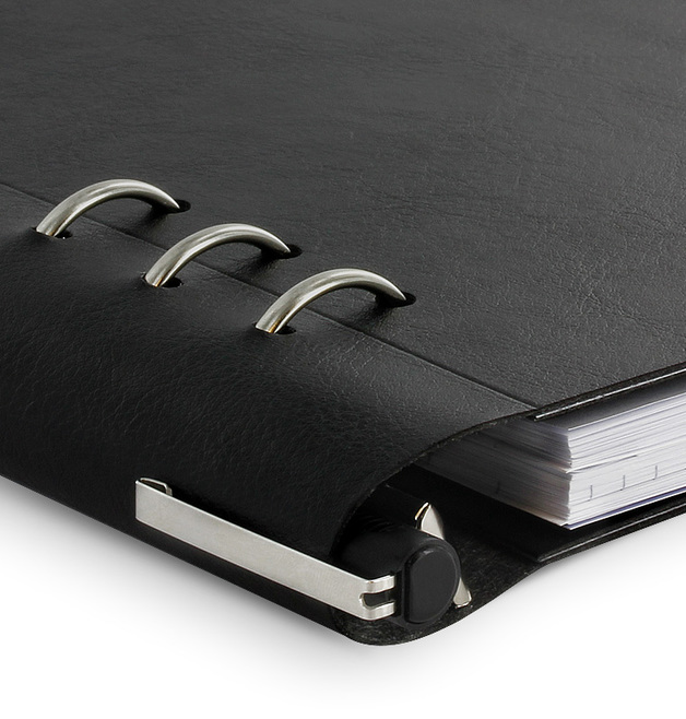 Filofax - A5 Clipbook - Black