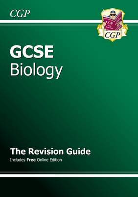 GCSE Biology Revision Guide (with Online Edition) (A*-G Course) by CGP Books image