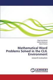 Mathematical Word Problems Solved in the CLIL Environment by Kominkova Olga