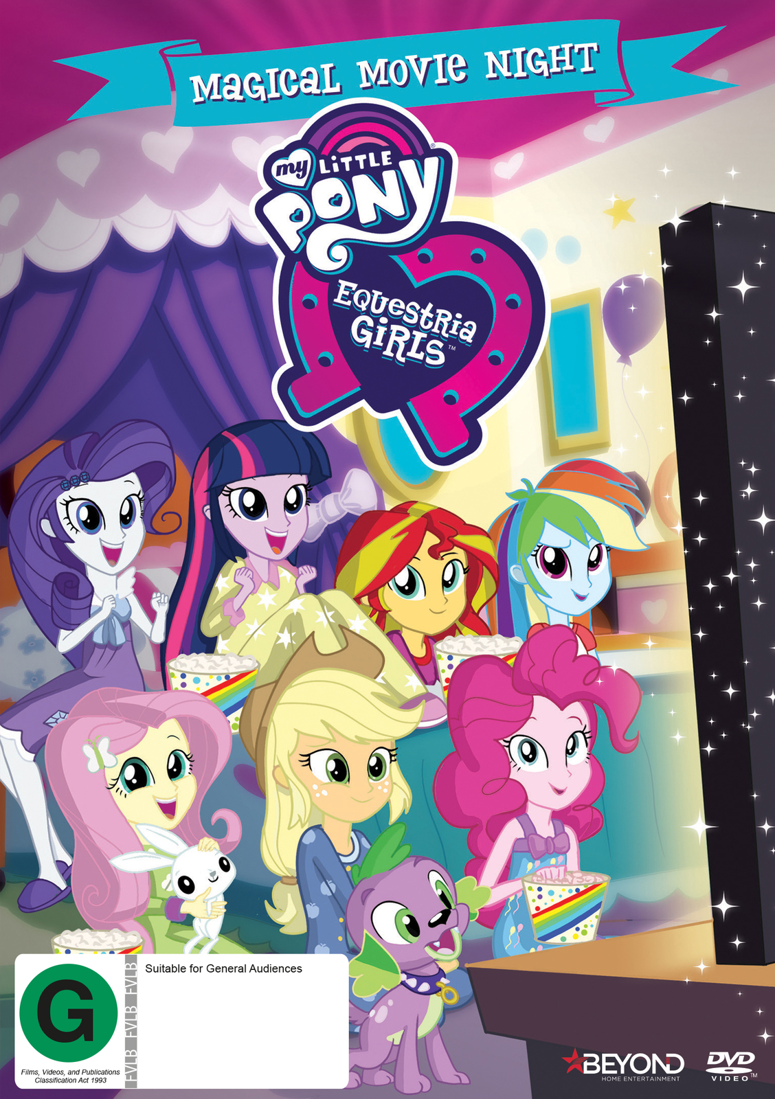 My Little Pony: Equestria Girls - Magical Movie Night on DVD image