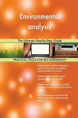 Environmental Analysis the Ultimate Step-By-Step Guide by Gerardus Blokdyk image