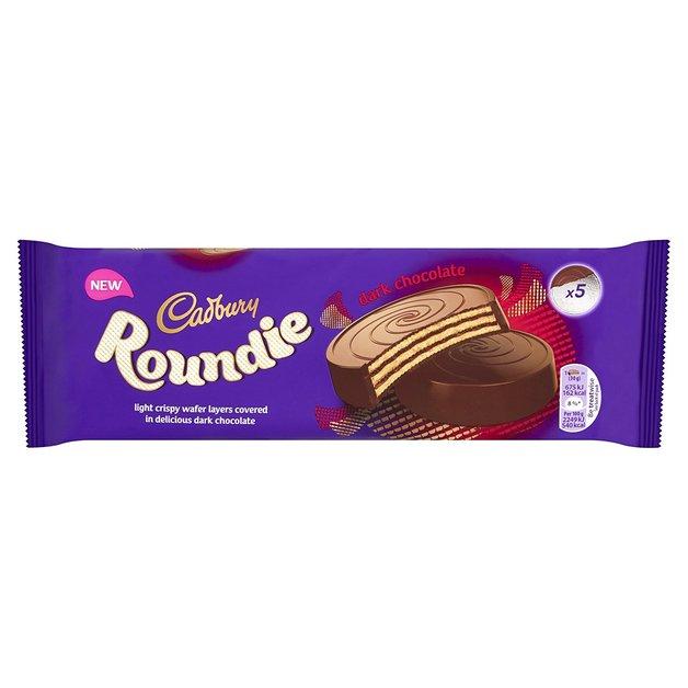Cadbury Roundies Dark Chocolate Wafer 150g