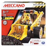 Meccano: Bulldozer Building Kit image