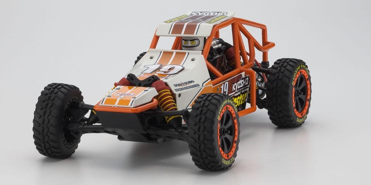 Kyosho 1/10 Sandmaster EP 2WD Buggy RTR (White) image