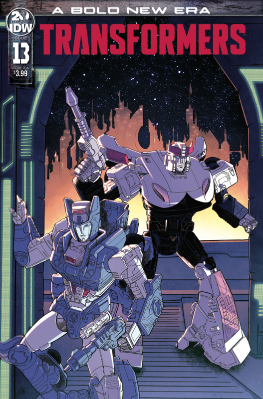 Transformers - #13 (Cover A) by Brian Ruckley