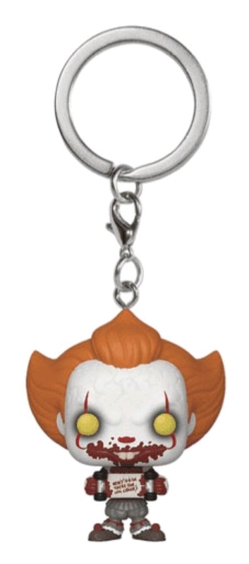 It: Chapter 2 - Pennywise with Skateboard - Pocket Pop! Keychain