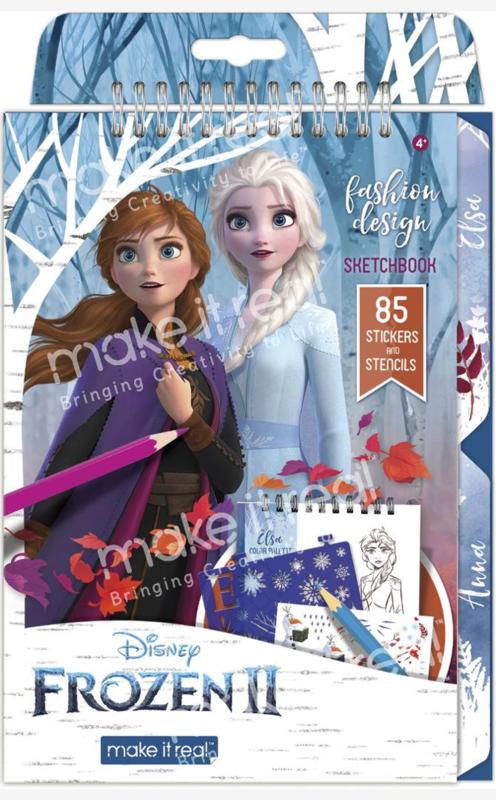 Make It Real: Frozen 2 - Fashion Design Sketchbook