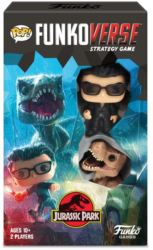 Funkoverse: Jurassic Park - Board Game (2-Pk)