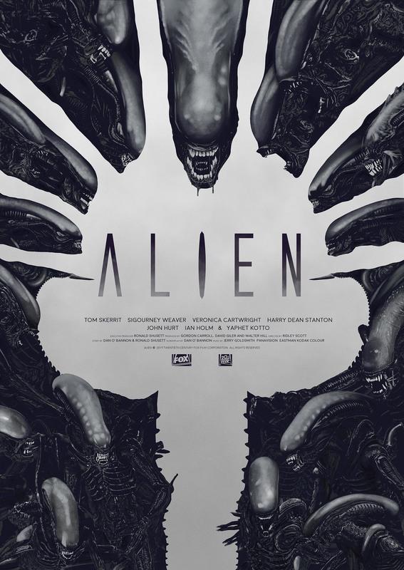 Alien: Premium Art Print - Face Hugger