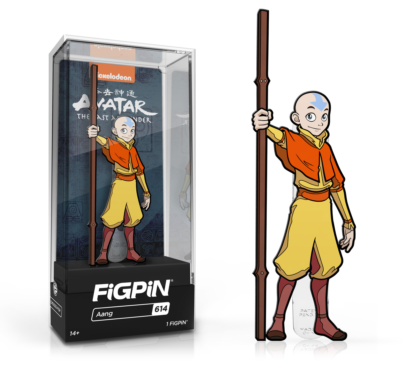 Avatar: The Last Airbender - Aang (#614) - Collectors FiGPiN image