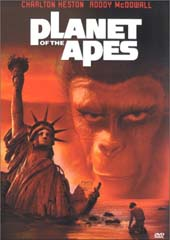 Planet of the Apes on DVD