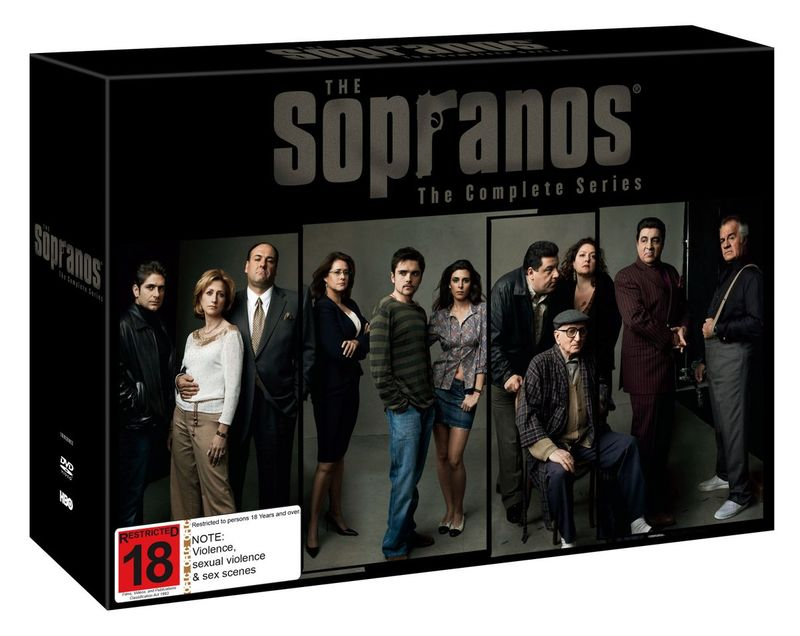 the sopranos complete series box set dvd buy now at. Black Bedroom Furniture Sets. Home Design Ideas