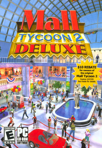 Mall Tycoon 2 Deluxe - Build the Ultimate Mega Mall (Jewel case packaging) for PC Games