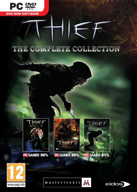 Thief Collection (Dark Project, Metal Age and Deadly Shadows) for PC Games