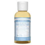 Dr Bronner's Castile Liquid Soap - Baby Unscented (59mls)