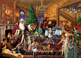 Holdson: 1000pce Puzzle - Upstairs Downstairs Christmas in the Parlour