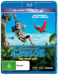 Robinson Crusoe on Blu-ray