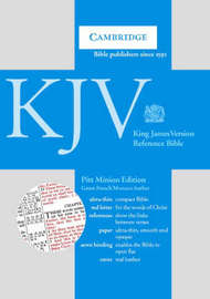 KJV Pitt Minion Reference Edition, R183 Green French Morocco Leather: KJV Pitt Minion Reference Edition, R183 image
