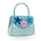 Pink Poppy: Under the Sea Mermaid Hard Handbag - (Blue)