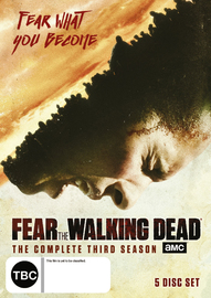 Fear The Walking Dead - The Complete Third Season on DVD