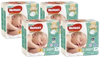Huggies Ultimate Nappies Bulk Shipper - Newborn - Up to 5kg (216)