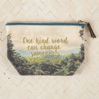 Natural Life: Pouch - Indie Blue One Kind Word