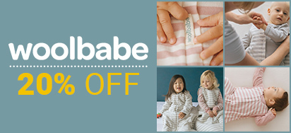 20% off Woolbabe